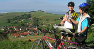 Mountainbiking, Panoramawege